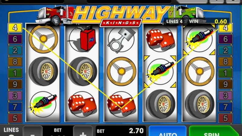 3WIN8 - Highway slot game