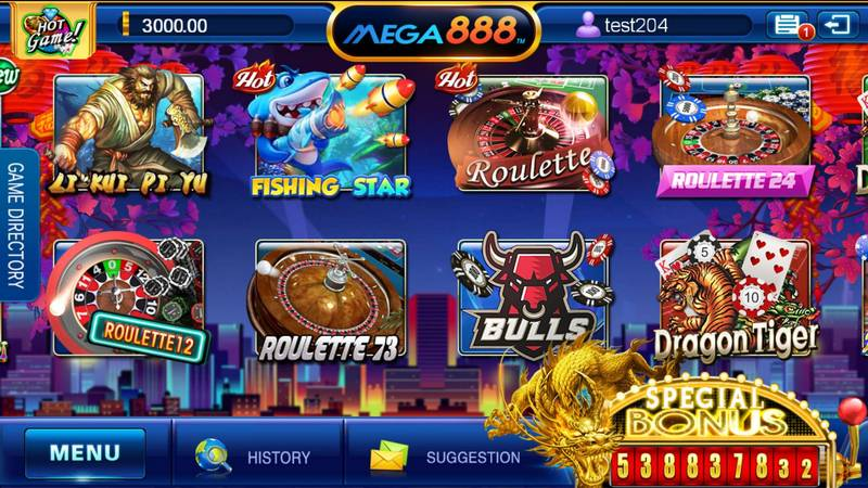 Download Mega888 for Android and IOS